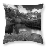 0166 Moraine Lake Throw Pillow
