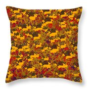 0167 Abstract Thought Throw Pillow