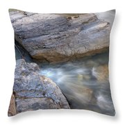 0180 Marble Canyon 2 Throw Pillow