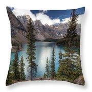 0184 Moraine Lake Throw Pillow