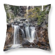 0202 Tangle Creek Falls 5 Throw Pillow
