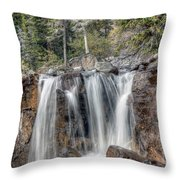 0206 Tangle Creek Falls 2 Throw Pillow