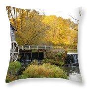0289 Hyde's Mill Wisconsin Throw Pillow