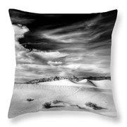 0293 Death Valley Sand Dunes Throw Pillow