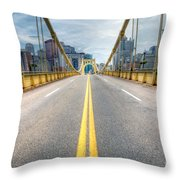 0306 Pittsburgh 9 Throw Pillow