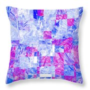 0318 Abstract Thought Throw Pillow
