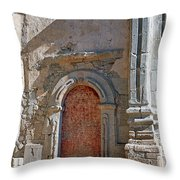 0328 Mission At San Juan Capistrano Throw Pillow