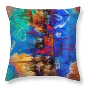 Expression With Vision Throw Pillow