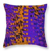 0347 Abstract Thought Throw Pillow