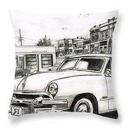 038-old51 Throw Pillow