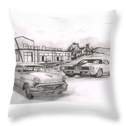 040-great American Throw Pillow