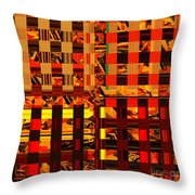 0409 Abstract Thought Throw Pillow