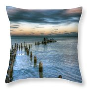 0411 Lake Michigan Throw Pillow