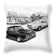 042-grt American Throw Pillow