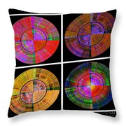 0454 Abstract Thought Throw Pillow by Chowdary V Arikatla