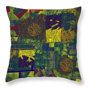 0466 Abstract Thought Throw Pillow