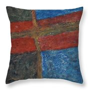 047 Abstract Thought Throw Pillow