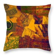 0470 Abstract Thought Throw Pillow