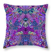0476 Abstract Thought Throw Pillow