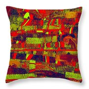 0480 Abstract Thought Throw Pillow