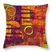 0482 Abstract Thought Throw Pillow