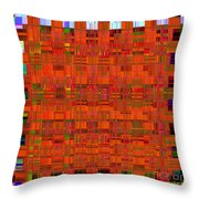 0493 Abstract Thought Throw Pillow by Chowdary V Arikatla