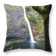 0508 Horsetail Falls Throw Pillow