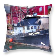 0512 Oregon Coast Throw Pillow