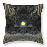 0522 Throw Pillow