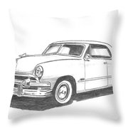 053-old51 Throw Pillow