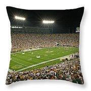 0609 Lambeau Field Throw Pillow