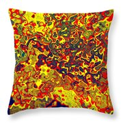 0621 Abstract Thought Throw Pillow