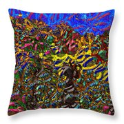 0629 Abstract Thought Throw Pillow