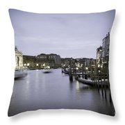 0696 Venice Italy Throw Pillow
