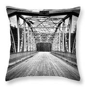 0648 Bow River Bridge Throw Pillow