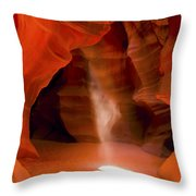 0677 Upper Antelope Canyon Throw Pillow