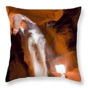 0692 Antelope Canyon Throw Pillow