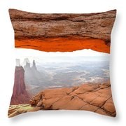 0708 Mesa Arch Throw Pillow
