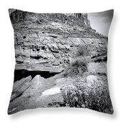 0715 Guardian Of Canyonland Throw Pillow