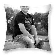 0730 Throw Pillow