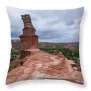 07.30.14 Palo Duro Canyon - Lighthouse Trail 47e Throw Pillow