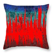 0738 Abstract Thought Throw Pillow
