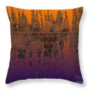 0740 Abstract Thought Throw Pillow