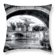 0750 St. Peter's Basilica Throw Pillow