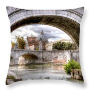 0751 St. Peter's Basilica Throw Pillow