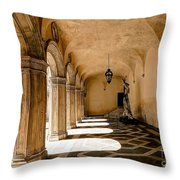 0758 Doge Palace - Venice Italy Throw Pillow