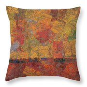 0774 Abstract Thought Throw Pillow
