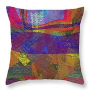 0781 Abstract Thought Throw Pillow