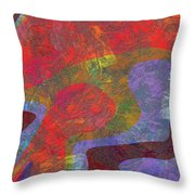 0782 Abstract Thought Throw Pillow