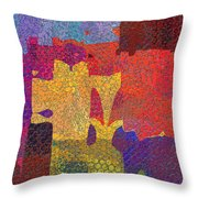 0787 Abstract Thought Throw Pillow